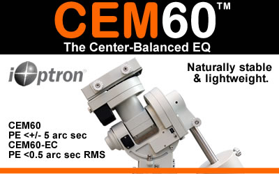 The CEM60: Center-balanced for natural stability and lighter weight